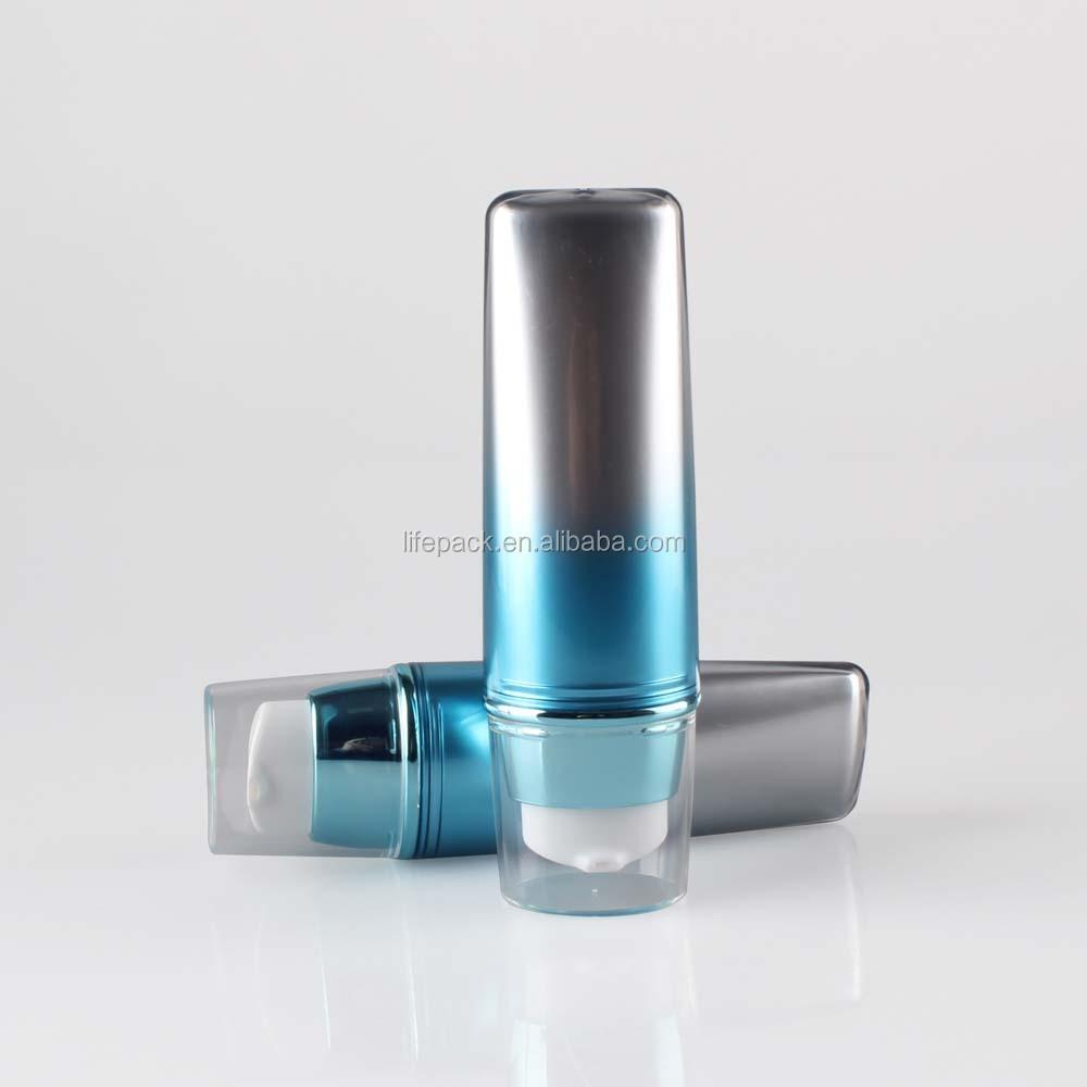 15 мл Косметическая воздушная наволочка круглая основа макияж пудра слоеная коробка CC крем контейнер с зеркалом