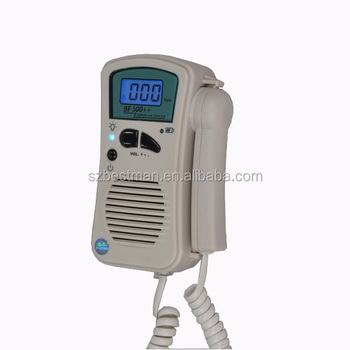 Bestman Fda Ultrasound Fetal Doppler Detect Baby Heart Rate Bf 500