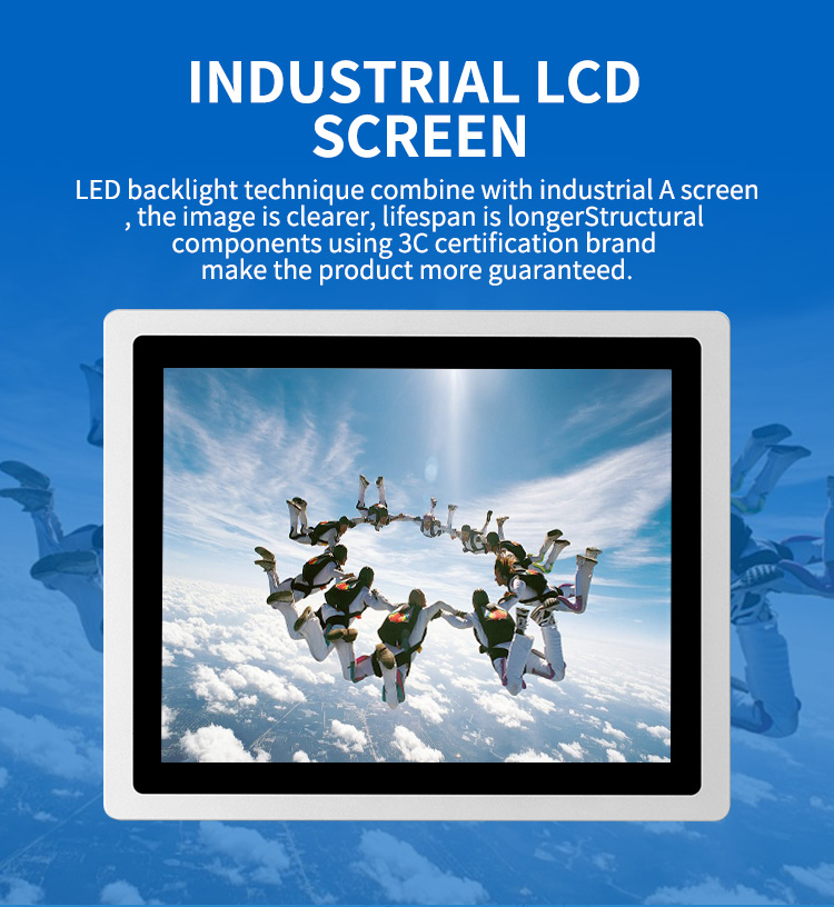 17 Inch Android window J1900 I3 Industrial Embedded Touch Screen Panel Tablet PC