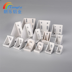 High hardness Standard stainless steel connector bracket for aluminium profile accessories