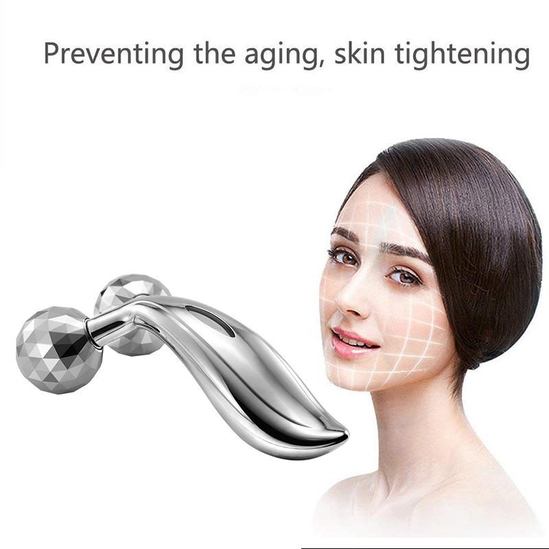 Hot selling facial massager beauty equipment 3D face lifting roller