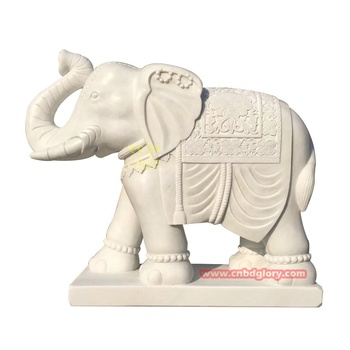 Garden Door Ornaments Productmarble Mascot Elephant Statue