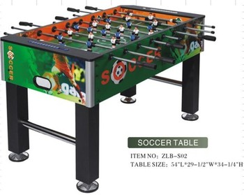 2015 Professional Standard Cheap Foosball Table Dimension