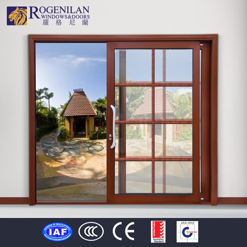 Rogenilan puertas corredizas metal utilizado pantalla de for Puertas de metal para interiores