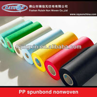 2013 High quality PP SPUNBOND NON WOVEN FABRIC for upholstery,mattress,bag,packing,printing,bedding etc
