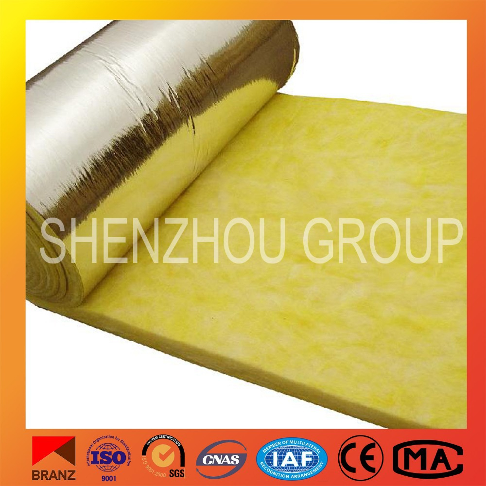 aluminum coated fabric CE certificate thermal insulation glass wool