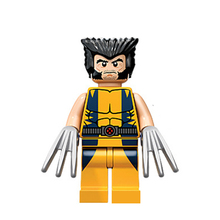 6pcs Mini Figure movie Super Hero Avenger Kid Baby Toy Building Blocks Sets Model Toys Minifigures