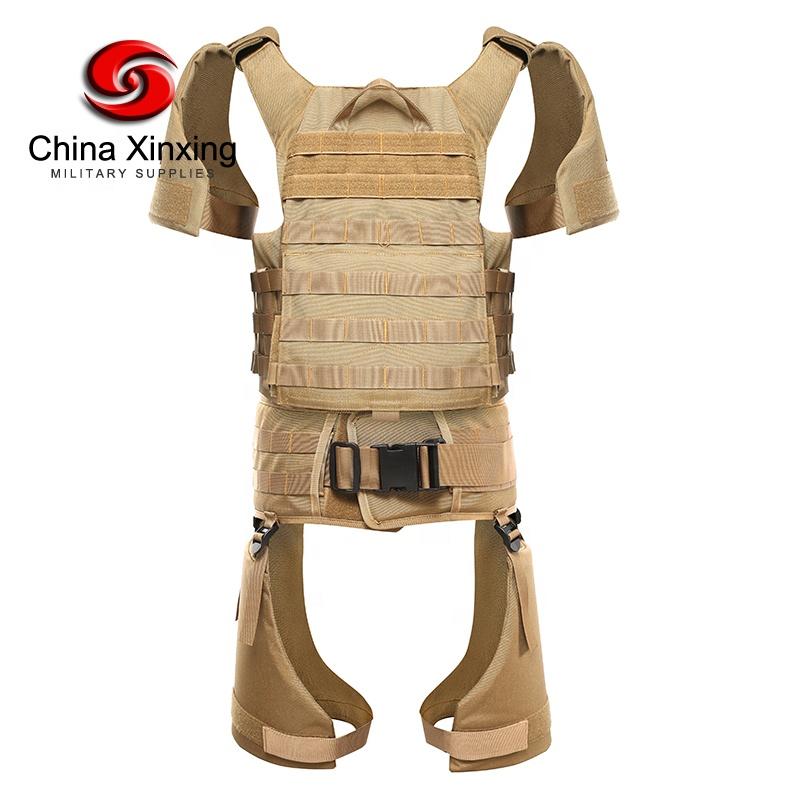 Custom Military Bulletproof Vest Level IV Full Body Armor Aramid Bullet proof Vest