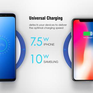 Cell phone accessory fast wireless charger