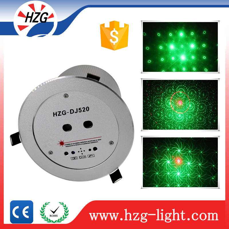 Sound system RG holographic projector laser ceiling Green & Red mini laser light star beauty night light
