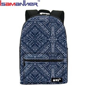 "17"" full sublimation girl backpack, funky girl backpack production"