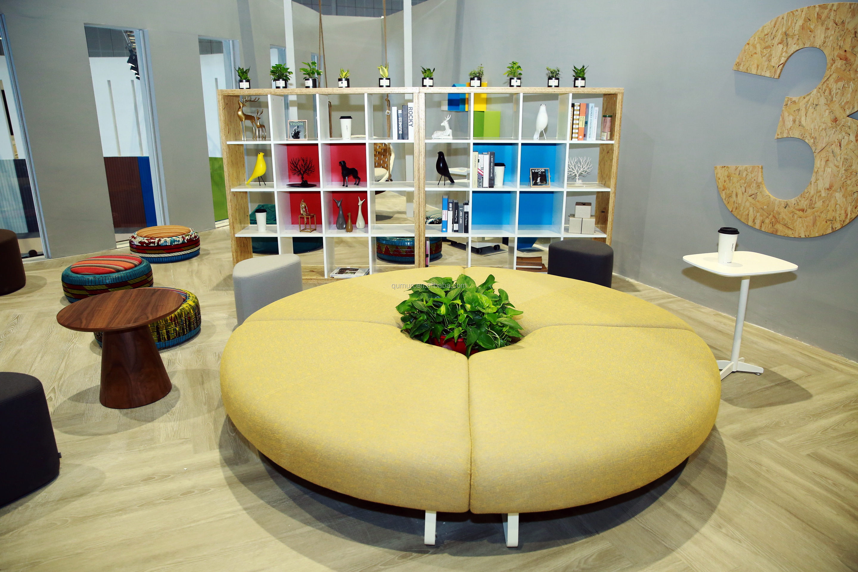 2019 New Style Public Space Modern Office Round Modular Fabric Sofa - Buy  Office Sofa Modern,Round Sofa,Modular Sofa Product on Alibaba.com