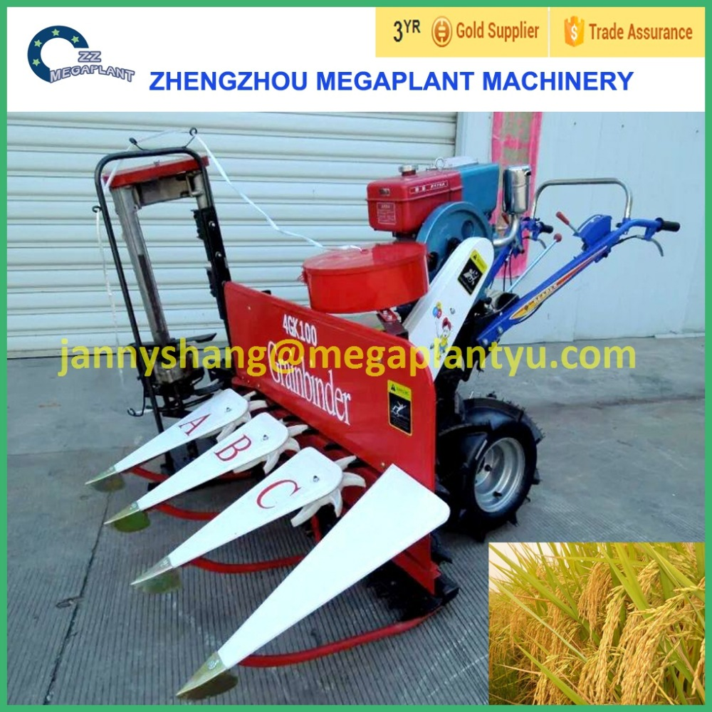 Tractor Mounted Paddy Rice Reaper Binder With Lowest Price
