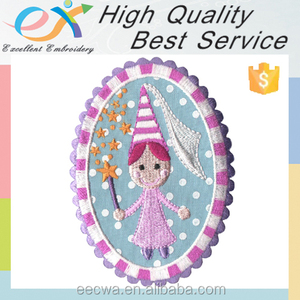 Trade Assurance embroidery supplier custom appliques