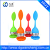 factory tea infuser/stainer,OEM food grade eco-friendly rubber silicone tea infuser
