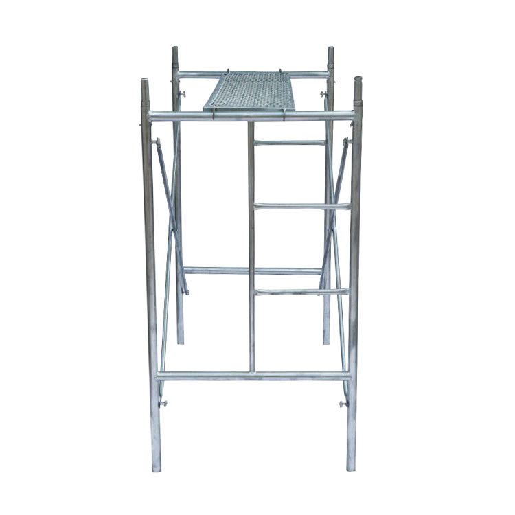 42x1.8mm Galvanized Construction Ladder H Frame Scaffolding Made In China
