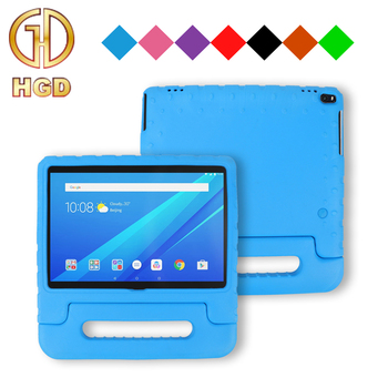 Kids cover for Lenovo TAB 4 10 inch PLUS tablet kid-friendly soft eva foam handle stand case
