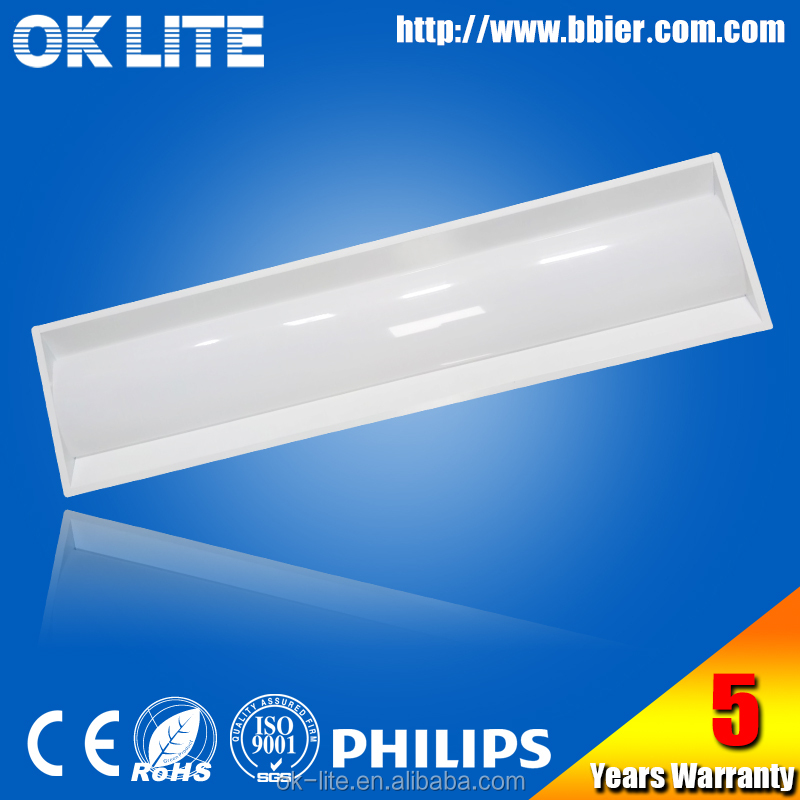 2x2ft DLC 1x4ft 40w top brand led driver replacing fluorescent lights with LED panels