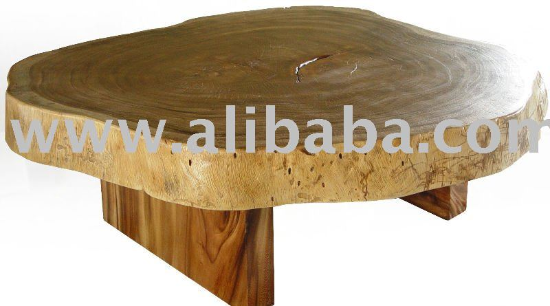Coffee Table Reclaimed Solid Slab Of Acacia Wood Free Form Product On Alibaba