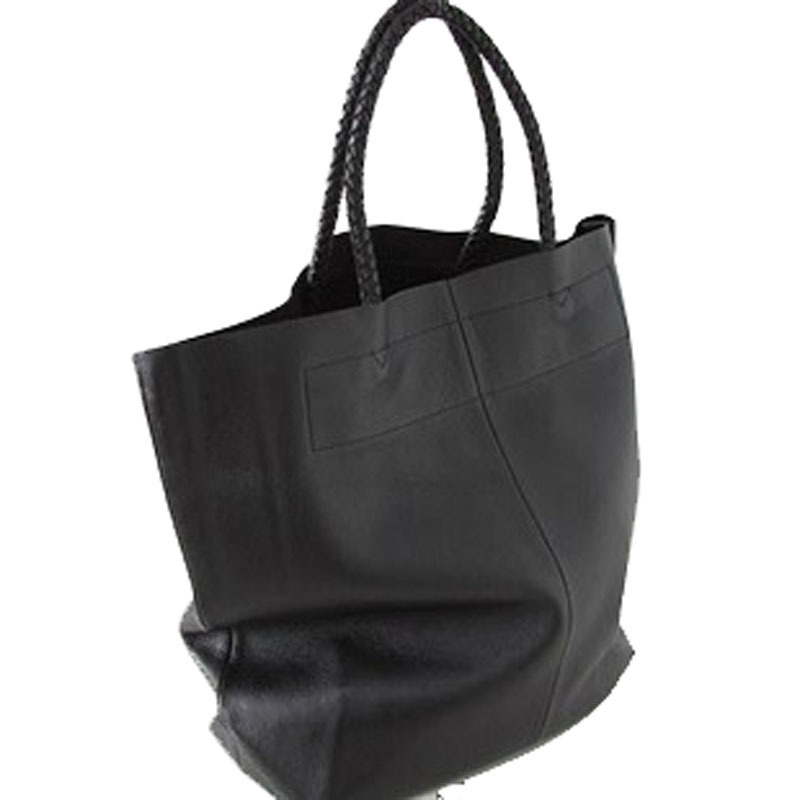 New Arrival Korean Style Large-Capacity Genuine Leather Handbag Shopping Bag  Ladies Hand Bags Women e67a847a144a2