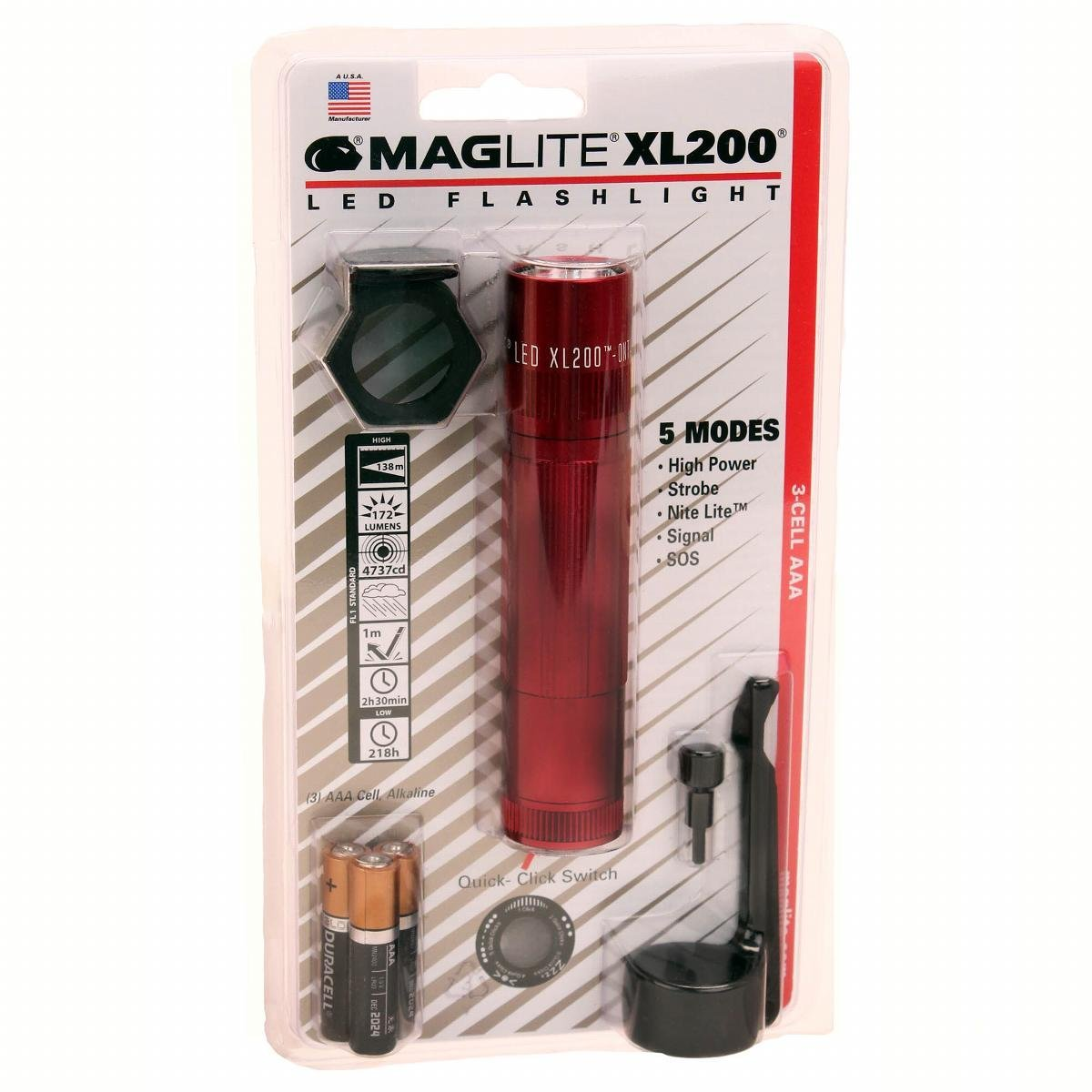 Lampe torche Maglite xl50-s3016 DEL 3-Cell AAA Tactical Pack