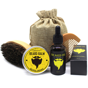 MOQ100 Private Label Beard Care Gift Set Beard Grooming Kit