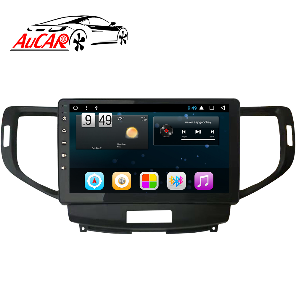 "AuCAR 10.2 ""Android Autoradio per Honda Accord 8 2008-2012 Euro Europeo Touch Screen Video Audio Stereo GPS BT 4G IPS WiFi"