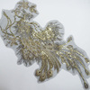 whoelsale rhinestone iron on patches for clothing decoration