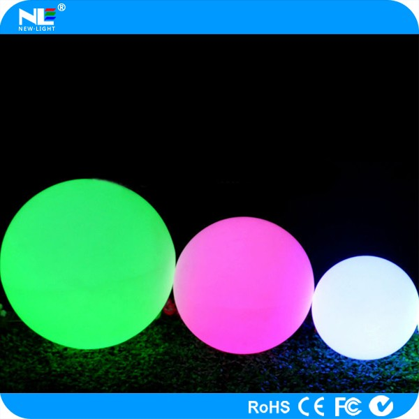 home/bedroom/garden decoration LED light for children/illuminated LED swimming pool ball light