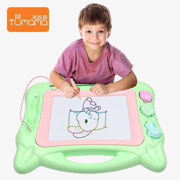 intelligent learning color kids erasable magnetic drawing board