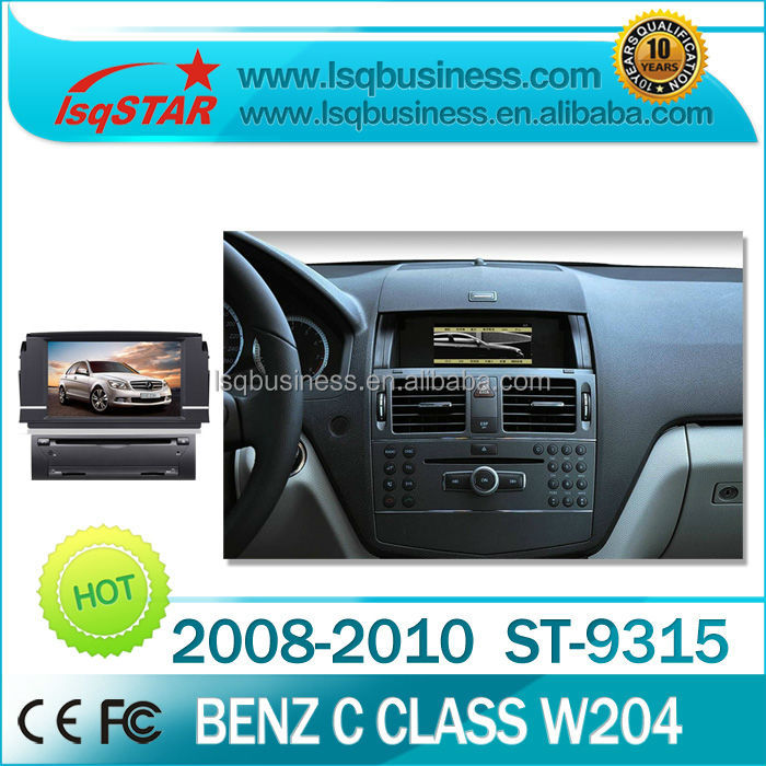 Free shipping Android 4.0 System car DVD GPS For Mercedes-Benz C180/C200/C230/C300 with GPS Canbus ST-9315