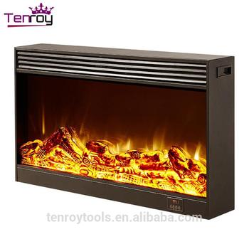 Wall Mounted Radiant Heater,Pu Decorative Indoor Fireplaces In ...