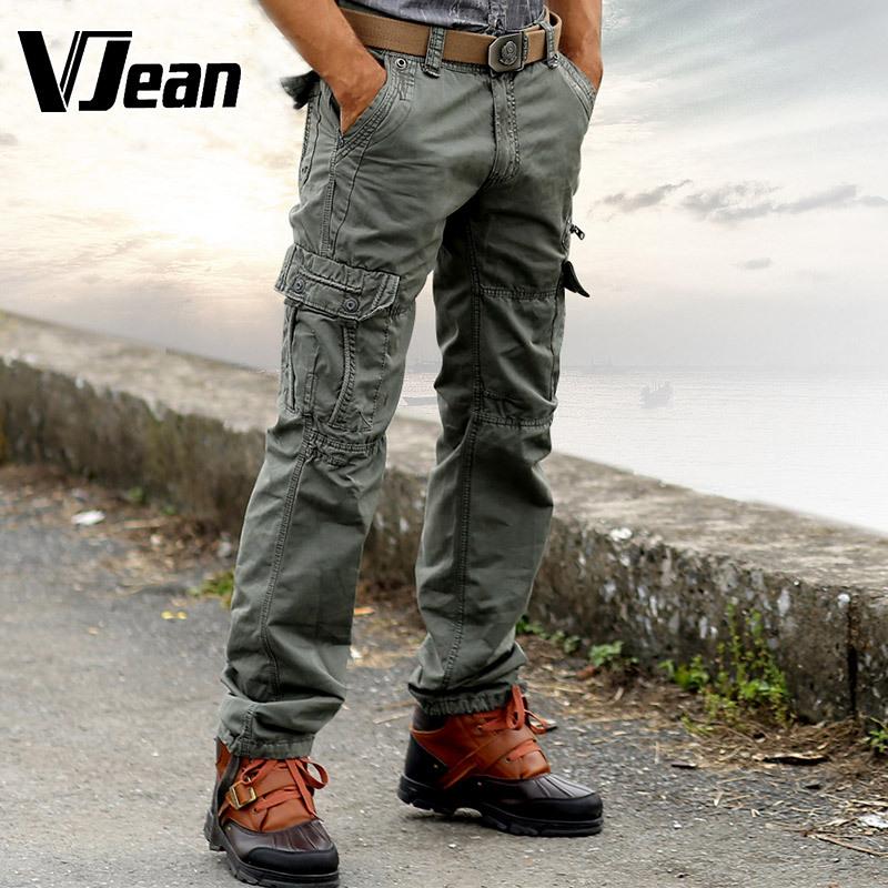 pantalon avec plein de poche homme