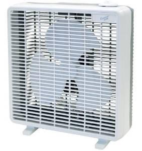 Comfort Zone CZ10B 10-Inch 3-Speed Box Fan