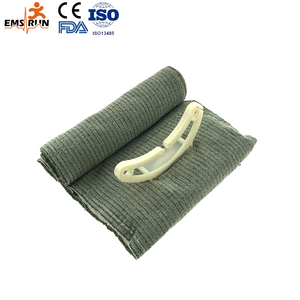 first aid military elastic emergency Trauma sterile medical compression adhesive crepe Orthopedic roller israeli bandage