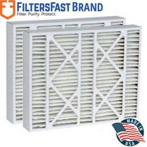 """FiltersFast Compatible Replacement for Carrier MERV 8 (2-Pack) 20"""" x 25"""" x 5"""" (Actual size: 20 1/4"""" x 25 3/8"""" x 5 1/4"""")"""
