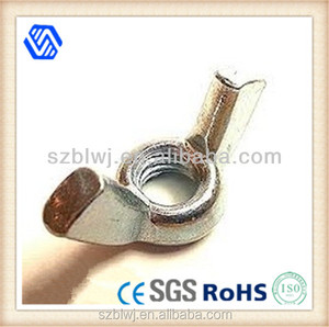 China Supplier Metal GL Plated Wing Nuts Fasteners,heavy duty wing nut