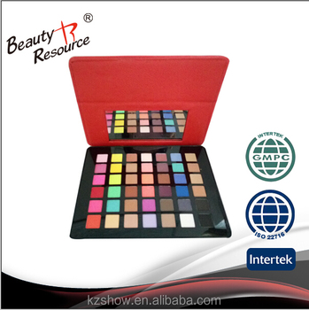 Top quality makeup eyeshadow eyeshdow palette with brush cosmetics.