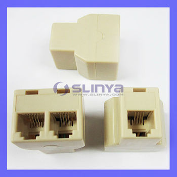 Rj Connector P C Pins Contacts Extender Adaptor Jpg X on Wiring 6 Wire Phone Line Splitter