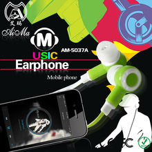 Hot sale promotion earphone headphone with 3.5mm jack for Mobile phone, htc,Samsung,Sony,PC,Tablet,Computer