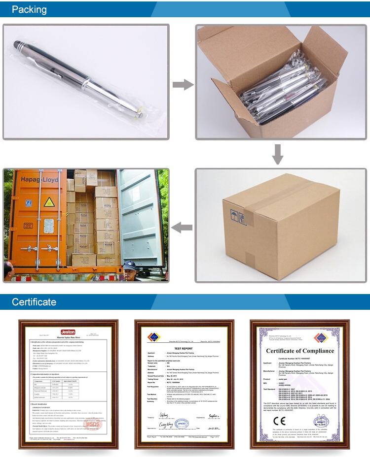 ใหม่ล่าสุดออกแบบต่ำ MOQ 100pcs ORDER ที่กำหนดเองโลโก้รูปหัวใจเพชรปากกาส่งเสริมการขายโลหะปากกา