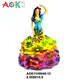 AOK Custom Office Gift Mini Lady Figurine Resin Women Statue