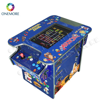 21.5 Inch Sit Down Home Cocktail Table Arcade Game Mini Arcade Cocktail  Arcade Cabinet
