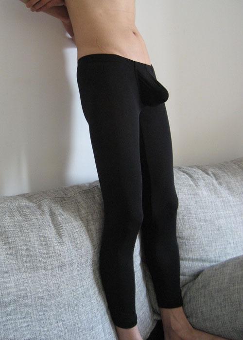 Новые люди сексуальные прозрачные жесткие спальный носить сексуальный низкой талией брюки полупрозрачного льда шелковые брюки бесплатная доставка