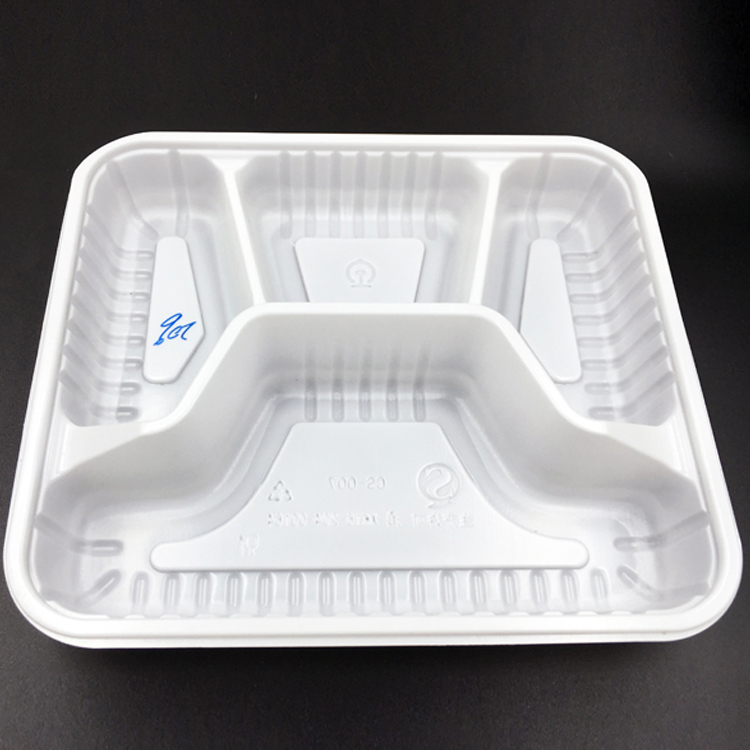 Plastic Yellow Thermoform ESD Conductive Antistatic  Electronic Components Tray for PCB