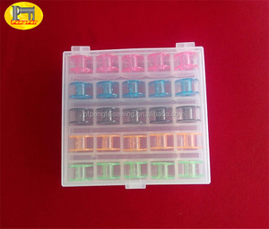 Household Sewing Plastic Bobbin / bobbin storage box