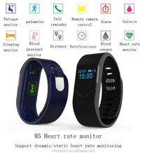 Bluetooth 4.0 Smart Bracelet Real Time Heart Rate Blood Pressure Blood Oxygen Monitor