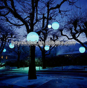 Illuminating Outdoor Light Color Changing Led Ball Buy Waterproof Led Light Ball Outdoor Hanging Light Balls Led Mood Light Ball Product On