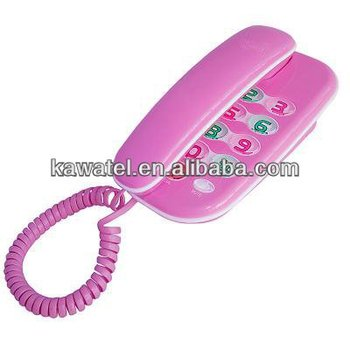 New Design Fancy Home Telephone With Music For Old People