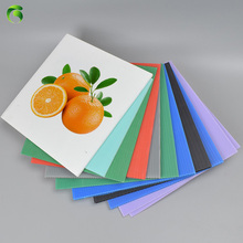 Green Corona Treatment PP correx Plastic Sheets For Advertisement Placard